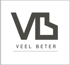 Veel beter logo footer