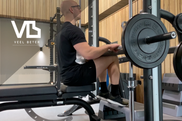 Kracht: Seated calf raise